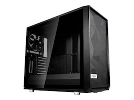 Fractal Design Chassis, Meshify S2 Black Dark TG 3x2.5 3.5 flex bays 4x2.5 bays 7+2xExpansion slots, FD-CA-MESH-S2-BKO-TGD, 36612201, Cases - Systems/Servers