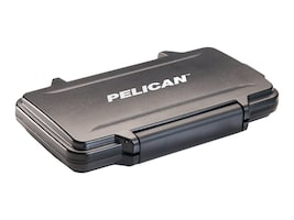 Pelican Chassis, 0915 Memory Card Case - 12, 6, 6 SD miniSD microSD 8xSD or 16xMicroSD, Black, 009150-0100-110, 33997708, Cases - Systems/Servers