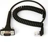 Datamax-O'Neil Coiled Download Cable for Symbol MC9000 to MicroFlash Printers, 210164-017, 5910599, Cables