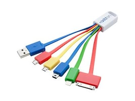 ACP-EP 5-in-1 USB Charging Cable Adapter, 3, USB5IN1CHARGER, 30833062, Adapters & Port Converters