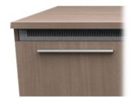 Middle Atlantic 1-Bay Handle Accessory - Modern Aluminum, ACC-HANDLE1-MAT, 37013518, Furniture - Miscellaneous