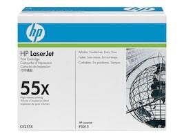 HP 55X (CE255XD) High Yield Black Original LaserJet Toner Cartridges (2-pack), CE255XD, 12277808, Toner and Imaging Components - OEM