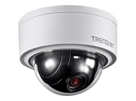TRENDnet 3MP Indoor Outdoor Motorized PTZ Dome Network Camera, TV-IP420P, 32224375, Cameras - Security