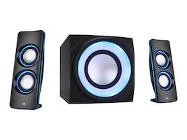 Cyber Acoustics 2.1 BT Lights Multi Media Speaker, CA-3712BT, 34281314, Speakers - Audio
