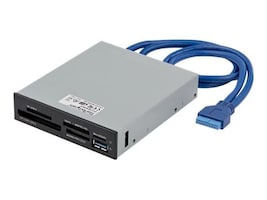 StarTech.com USB 3.0 Internal Multi-Card Reader w UHS-II Support, 35FCREADBU3, 27125559, PC Card/Flash Memory Readers