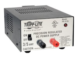 Tripp Lite 3-Amp DC Power Supply 120VAC Input to 13.8VDC Output, PR3UL, 6394522, AC Power Adapters (external)