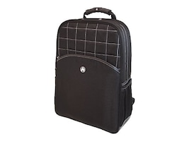 Mobile Edge Mens Computer Travel Pack Backpack, Black, ME-SUMO89301, 10352173, Carrying Cases - Notebook