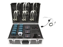 Califone 10 Person Tour Group System, WS-TG10, 34344371, Public Address (PA) Systems