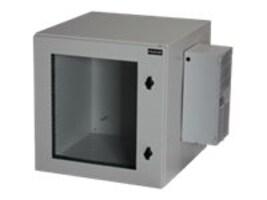 Black Box ClimateCab NEMA 12 Wallmount Cabinet w  800-BTU Air-Conditioner, Beige, Single-Hinged, RMW5130AC-R2, 32887460, Racks & Cabinets