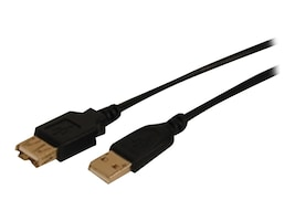 Comprehensive Cable USB2-AA-MF-15ST Main Image from Right-angle