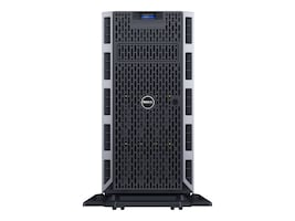 Dell PowerEdge T330 Tower Xeon QC E3-1240 v5 3.5GHz 8GB 1x300GB SAS 4x3.5 HP Bays H330 2xGbE 495W, 463-7654, 32052948, Servers