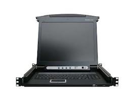 IOGEAR 17 LCD Combo Console, Front Panel LEDs, GCL1800, 11066275, KVM Displays & Accessories