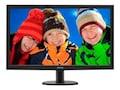 Philips 27 3V5LHSB LED-LCD Monitor with SmartControl Lite, Black, 273V5LHSB, 34168389, Monitors