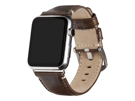 Targus Heritage Leather Band for Apple Watch, 42mm 44mm, SXD00306ALUS, 37235321, Wearable Technology - Apple Watch Series 4-5