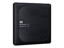 WD 1TB WD My Passport Wireless Pro Drive, WDBVPL0010BBK-NESN, 33869466, Network Attached Storage