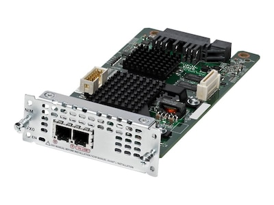 Cisco Fourth-Generation Network Plug-in Interface Module 2xFXO, for Cisco ISR 4331-4351 (Spare), NIM-2FXO=, 31257044, Modems