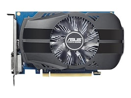 Asus GeForce GT 1030 PCIe 3.0 Overclocked Graphics Card, 2GB GDDR5, PH-GT1030-O2G, 34192135, Graphics/Video Accelerators