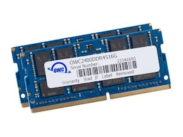 Other World 32GB PC4-19200 260-pin DDR4 SDRAM SODIMM for iMac (2017), OWC2400DDR4S32P, 35019561, Memory
