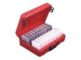 Perm-A-Store DLT20 TurtleCase 20 Capacity Red, DLT20, 471534, Media Storage Cases