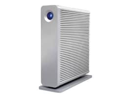 Lacie 6TB d2 Quadra USB 3.0 FireWire 800 eSATA External Hard Drive, STGJ6000400, 34485501, Hard Drives - External