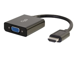 C2G HDMI to VGA M F Adapter Converter Dongle, Black, 41350, 17653817, Adapters & Port Converters