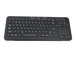 iKEY Rechargeable Wireless Keyboard, Black, SBW-97-TP-BLACK, 18231464, Keyboards & Keypads
