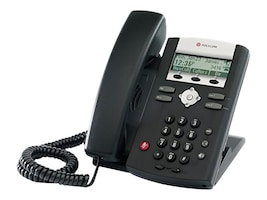 Polycom SoundPoint IP 331, 2-Line, No Power Supply, 2200-12365-025, 9960770, VoIP Phones