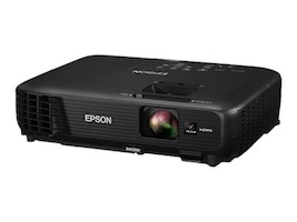 Epson PowerLite 1224 XGA 3LCD Projector, 3200 Lumens, Black, V11H720120, 22253017, Projectors