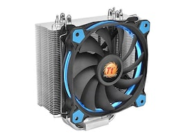 Thermaltake Riing Silent 12 CPU Cooler, Blue, CL-P022-AL12BU-A, 32001420, Cooling Systems/Fans