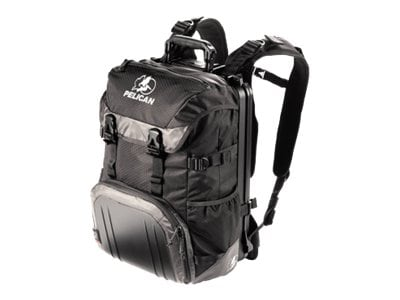 Pelican S100 Progear Sport Backpack for Ultrabook 15 Laptop 17 Macbook Black, 0S1000-0003-110, 15077641, Carrying Cases - Notebook