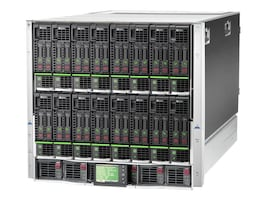 HPE BLc7000 Blade Enclosure Single Phase 6xPower Supplies 10xFans 16xInsight Control Licenses, 681842-B21, 15422530, Cases - Systems/Servers