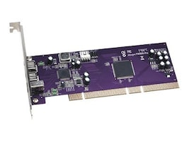 Sonnet Allegro FireWire 800 PCI Card External Ports 2X FireWire 800 and 1X FireWire 400, FW800A, 8079649, Controller Cards & I/O Boards