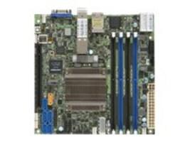 Supermicro Motherboard, X10SDV-8C-TLN4F+ Mini-ITX SoC Xeon 8C D-1537 Max.128GB DDR4 6xSATA 2x10G 2xGbE, X10SDV-8C-TLN4F+-B, 32661989, Motherboards
