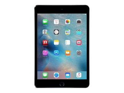 Apple iPad Mini 4 128GB, WiFi+Cellular, Space Gray, MK8D2LL/A, 30617271, Tablets - iPad mini