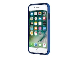 Incipio DualPro Dual Layer Case for iPhone 7, Iridescent Nautical Blue Blue, IPH-1465-NTB, 33013692, Carrying Cases - Phones/PDAs