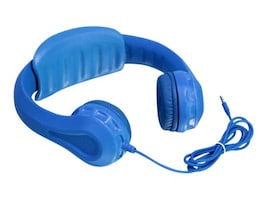 Aluratek Wired Foam Headphones for Kids, AKH01FB, 32226371, Headphones