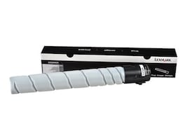 Lexmark Black High Yield Toner Cartridge for MS911de, 54G0H00, 17522446, Toner and Imaging Components - OEM