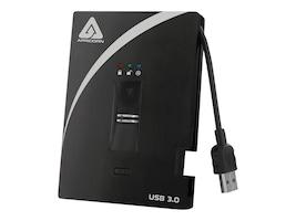 Apricorn 1TB Aegis Bio USB 3.0 External Hard Drive - 256-bit AES Hardware Encrypted, A25-3BIO256-1000, 14835826, Hard Drives - External