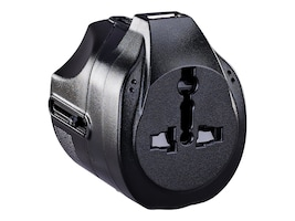 CyberPower 100 240V Universal Travel Adapter, TRA1A21U, 34245487, AC Power Adapters (external)