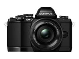 Olympus OM-D E-M10 Mirrorless Micro Four Thirds Digital Camera, Black (Body Only), V207020BU000, 16793105, Cameras - Digital
