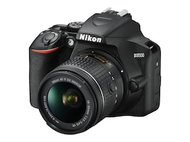 Nikon D3500 DSLR Camera with 18-55mm Lens, 1590, 36291057, Cameras - Digital