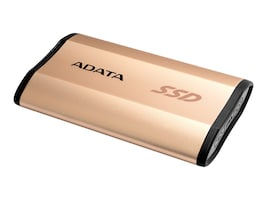 A-Data 512GB SE730H USB 3.1 Type-C External Solid State Drive - Gold, ASE730H-512GU31-CGD, 34875307, Solid State Drives - External