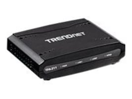 TRENDnet Mid-Band Coaxial Network Adapter, TPA-311, 13407070, Network Adapters & NICs