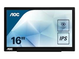AOC 15.6 I1601FWUX Full HD LED-LCD IPS Monitor, I1601FWUX, 34799068, Monitors