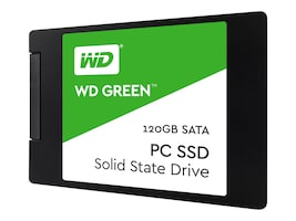 WD 120GB WD Green SATA 6Gb s 2.5 7mm Internal Solid State Drive, WDS120G2G0A, 34983009, Solid State Drives - Internal