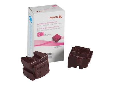 Xerox Magenta Ink Sticks for ColorQube 8570 & 8580 Series (2-pack), 108R00927, 12150401, Toner and Imaging Components