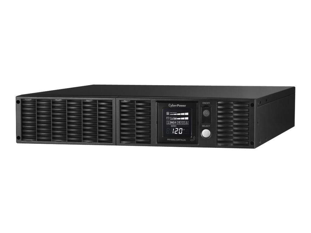 CyberPower 1500VA 1500W Smart App Sinewave LCD UPS 2U RM Tower AVR, 8 Outlets, Instant Rebate - Save $40, PR1500LCDRTXL2U, 9414488, Battery Backup/UPS