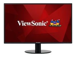 ViewSonic 27 VA2719-2K-SMHD WQHD LED-LCD Monitor, Black, VA2719-2K-SMHD, 34504426, Monitors