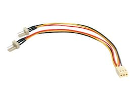 StarTech.com TX3 Fan Power Splitter Cable 6, TX3SPLITTER, 6590611, Power Cords