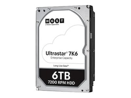 HGST 6TB UltraStar 7K6 SATA 6Gb s 512e SE 3.5 Enterprise Hard Drive, 0B36039, 35046009, Hard Drives - Internal